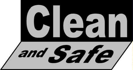 clean_and__safe_ logo